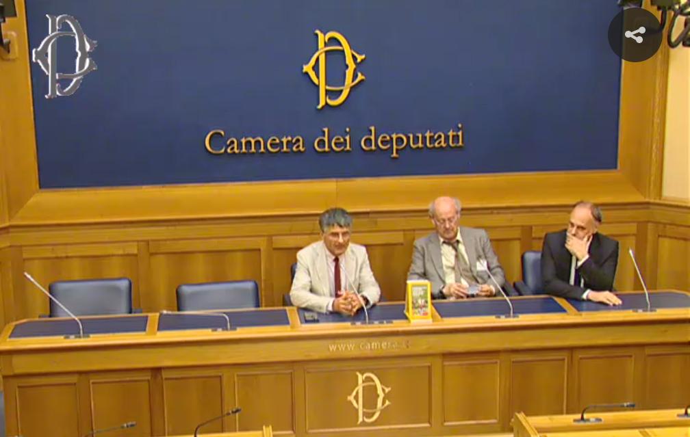 La presentazione con Carlo Triarico alla Camera dei Deputati del libro: L'agricoltura è sociale