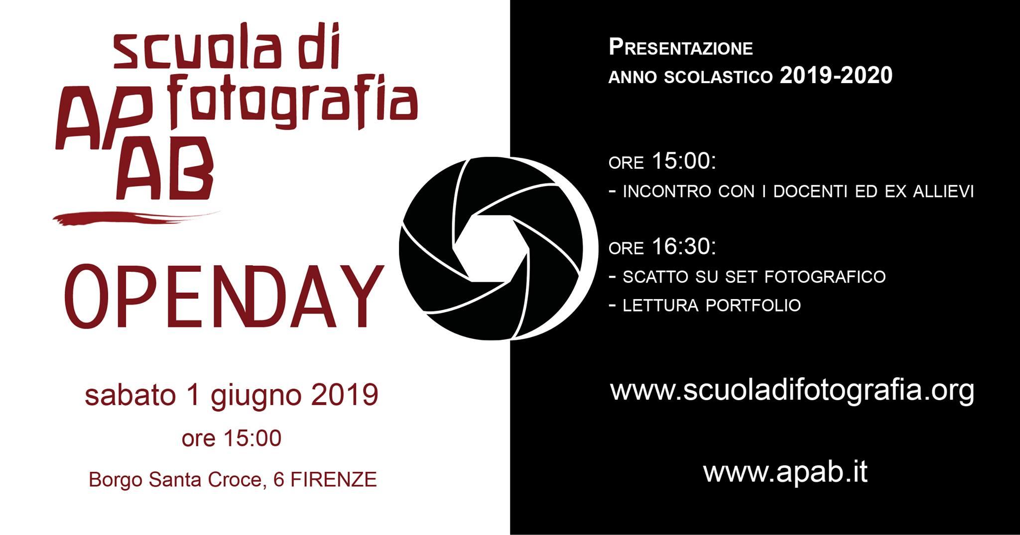 Open Day Della Scuola Internazionale Di Fotografia – 1 Giugno 2019 – Firenze