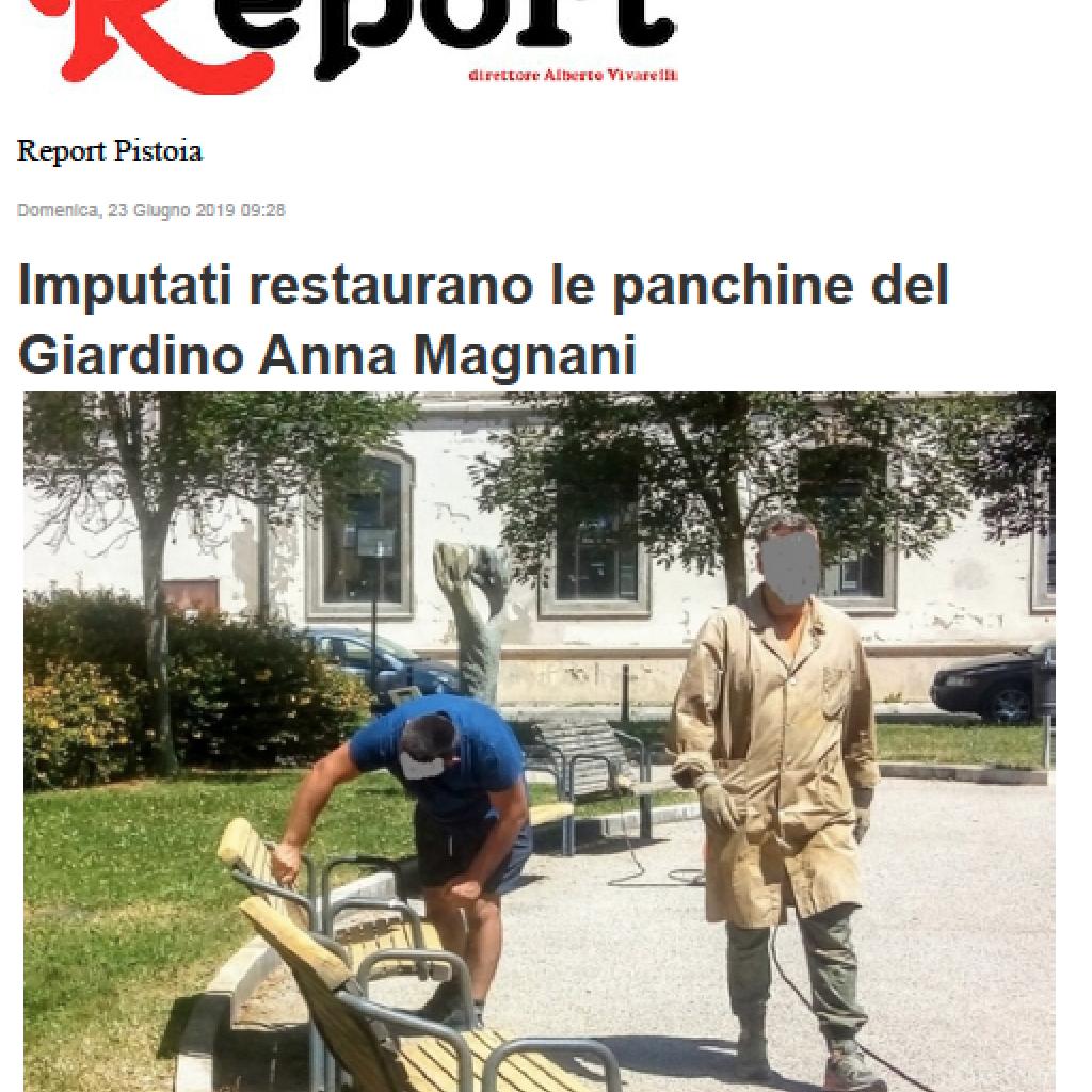 Report, 21 Giugno 2019