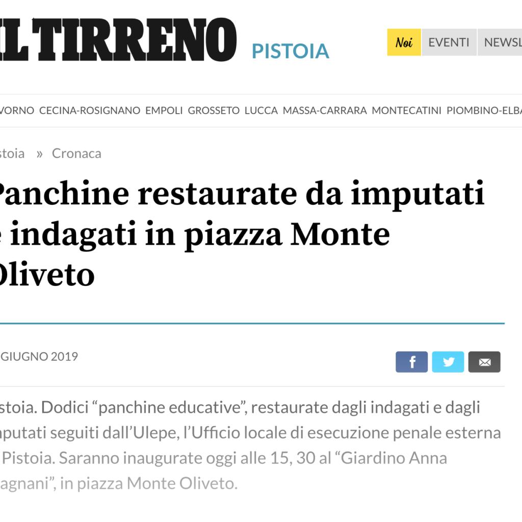 Il Tirreno, 21 Giugno 2019