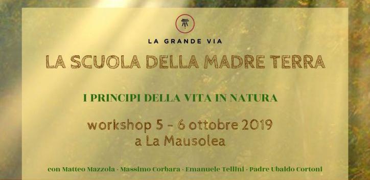 Seminario – La Natura Tra Terra E Cielo Alla Mausolea 5-6 Ottobre 2019