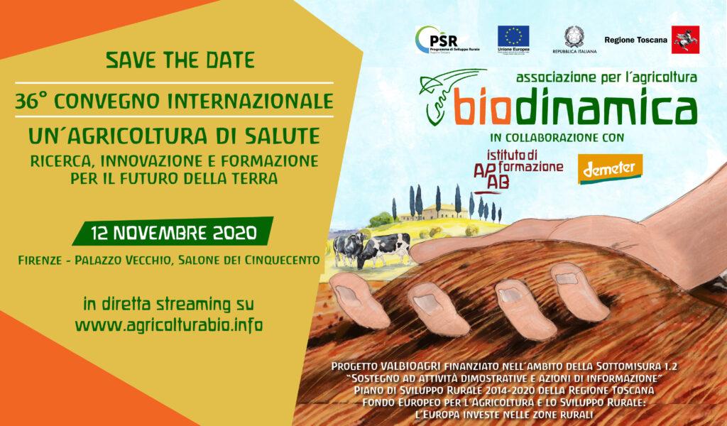 Il Convegno Internazionale Di Biodinamica Va On-line, Il 12 Novembre