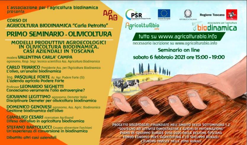 Settimane Tematiche Di Formazione, Si Comincia Con L'olivicoltura