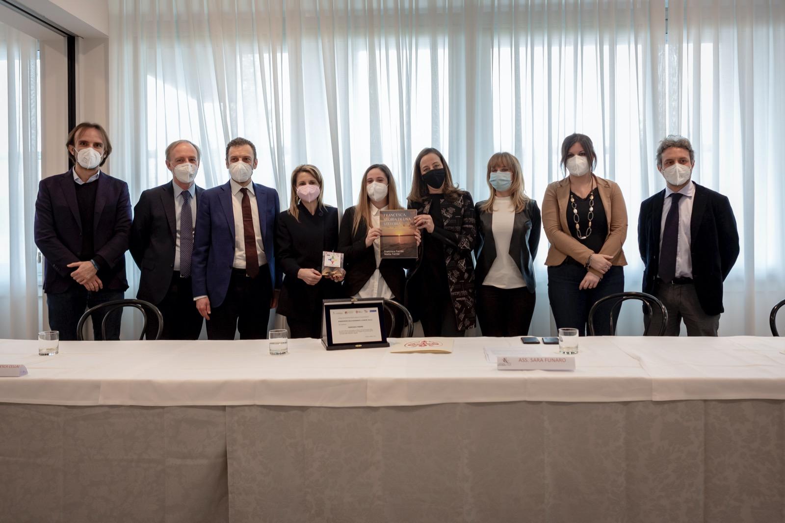 A Francesca Torrini Il Premio Del Progetto So.le Per La Solidarietà E La Legalità