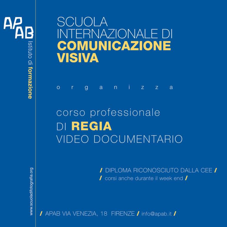 Corso Professionale Di Regia Video Documentario 2021-2022